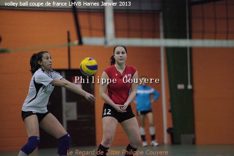 Volley ball coupe de france lhvb harnes janvier 2013 partie 2 et fin le regard de zitou - Coupe de france de volley ...